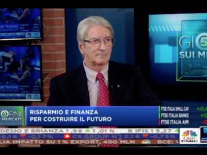 """Giacomo Ferrari, autore di Difendi i tuoi soldi, su """"Class Cnbc"""", 19/10/2019"""