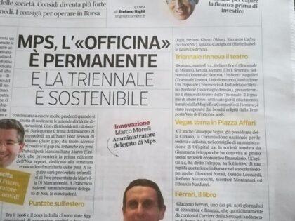 """Difendi i tuoi soldi di Giacomo Ferrari su """"Corriere Economia"""", 21/10/2019"""