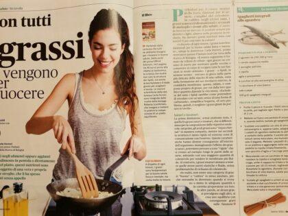 """""""Dalla parte dei grassi"""" di Carla Ferreri su BenEssere, marzo 2020"""