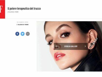 Make-up terapia di Roberta Scagnolari su VanityFair.it, 05/02/2020