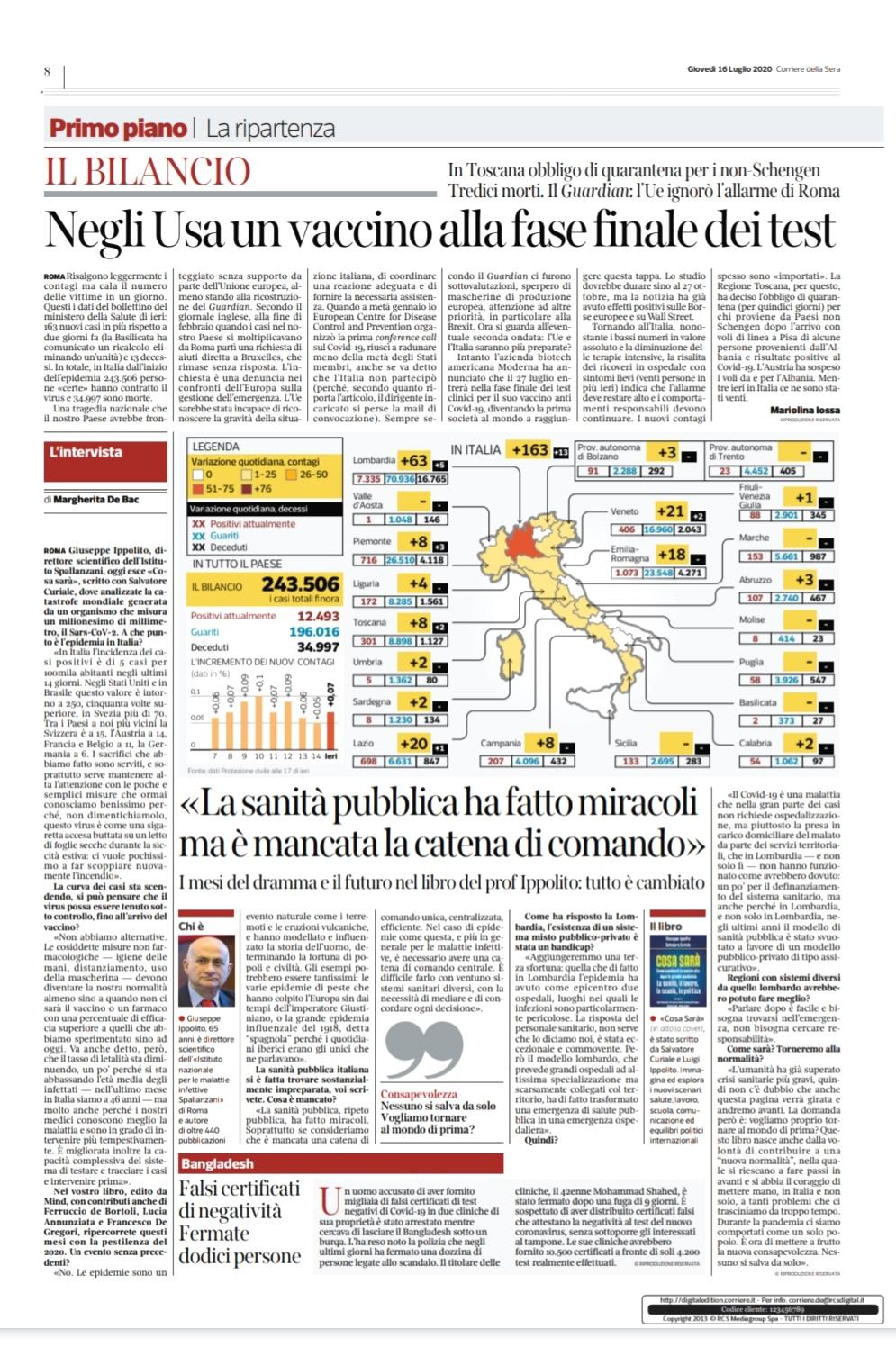 Intervista Ippolito Corriere 16.7.20 jpg