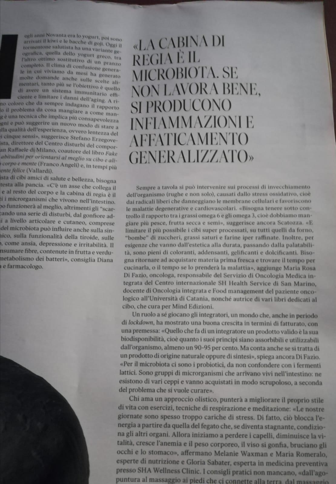Di Fazio, How to spend it-Il Sole 24 Ore, Novembre 2020