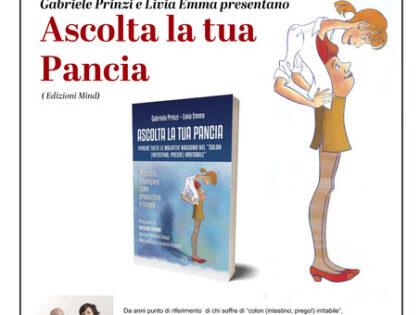 Gabriele Prinzi e Livia Emma presentano Ascolta la tua pancia, Torino libreria Borgopo', venerdì 16/07/2021