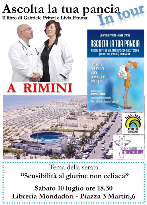 Ascolta la tua pancia a Rimini sabato 10 luglio 2021