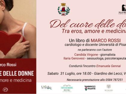 Presentazioni di Del cuore delle donne, Villa Bertelli, Forte dei Marmi, 31/07/2021