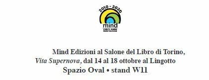 Mind Edizioni al Salone del Libro di Torino 2021